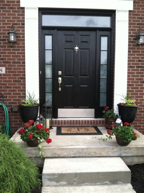 Doors Front Of House by Stylish Black Front Doors Change Your House S Curb