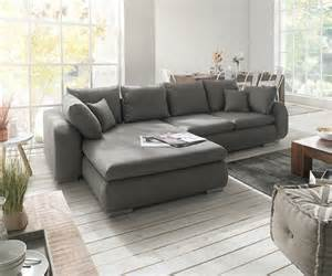 sofa grau ecksofa maxie 330x178 cm grau mit schlaffunktion möbel sofas ecksofas