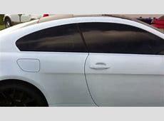 Plasti Dip Satin White BMW 6Series YouTube