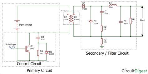 Forward Converter Circuit Diagram