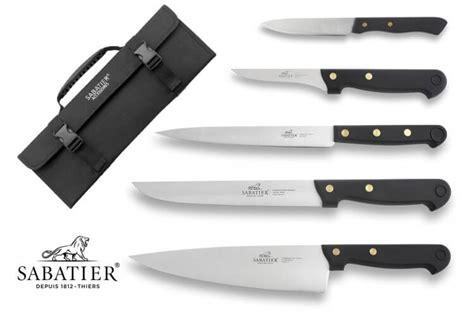 couteaux de cuisine sabatier malette 5 couteaux français sabatier cuisine d 39 aujourd 39 hui