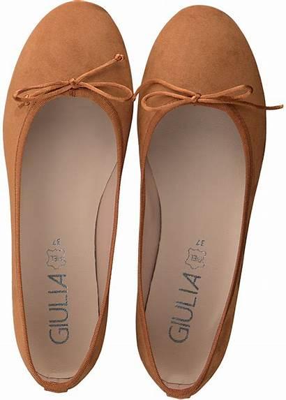 Ballerina Giulia Pumps Orange Ballerinas Orangene Ballet