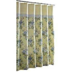 laura ashley shower curtain caroline ebay
