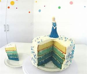 Gateau Anniversaire Reine Des Neiges : faire un gateau reine des neiges facile avec 2 recettes ~ Melissatoandfro.com Idées de Décoration