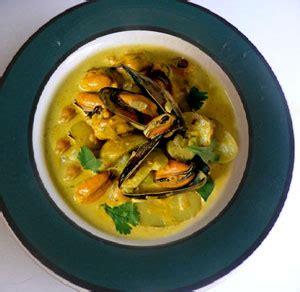 moules au curry recette cuisine indienne