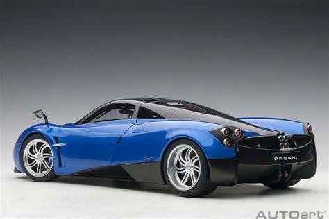 1/12 Pagani Huayra Metallic Blue / Silver Wheels - Autoart ...