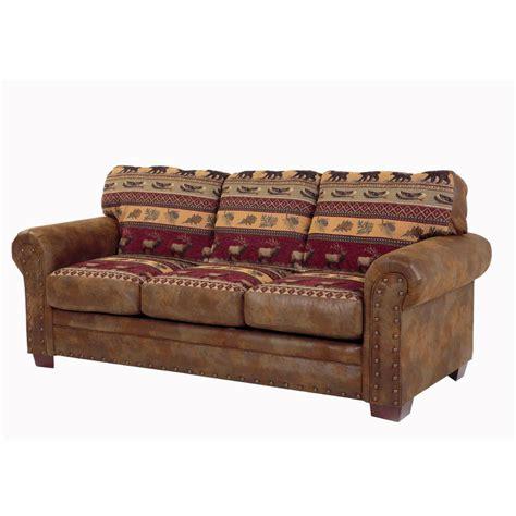 American Furniture Sofa by American Furniture Classics Lodge Multi Microfiber