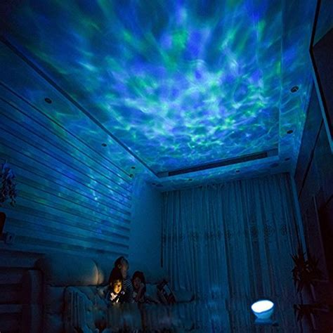 [Wall Adapter Included] Remote Control Ocean Wave LED