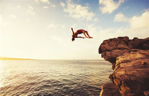 the best cliff jumping locations in the us beyond words