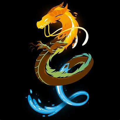 Dragon Elemental Teeturtle Dragons Water Moon Sun