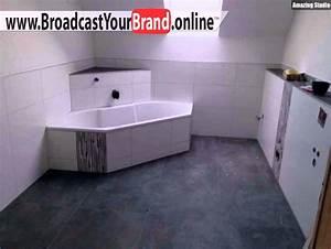 Badezimmer Fliesen Weiß : badezimmer fliesen grau wei youtube ~ Lizthompson.info Haus und Dekorationen