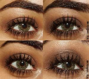 Easy Brown Smokey Eye Makeup | Puttin my face on ...