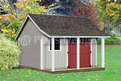 free 12x12 shed plans 12 x 12 backyard storage shed with porch plans p81212