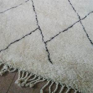 grand tapis berbere beni ouarain du maroc de la race des With tapis laine berbere