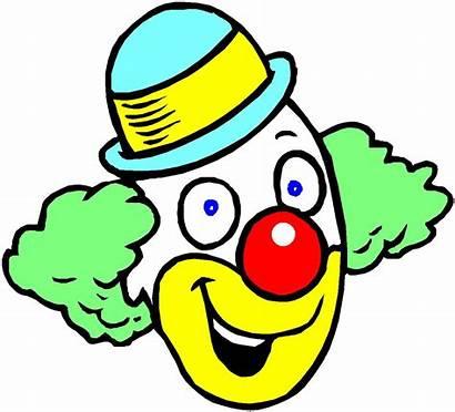 Clowns Clipart Cliparts Clown Animaatjes Face
