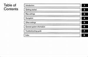 2015 Nissan Lc2 Navigation System Owner U0026 39 S Manual Original