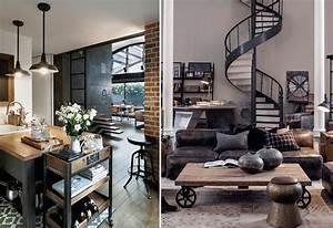 Style Et Deco : style d co industriel couleurs meubles accessoires et ~ Zukunftsfamilie.com Idées de Décoration