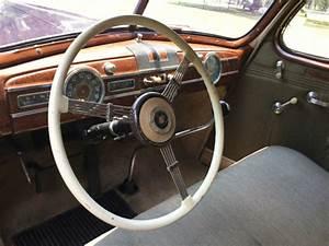Beautiful Original 1938 Packard Deluxe Eight Touring Sedan