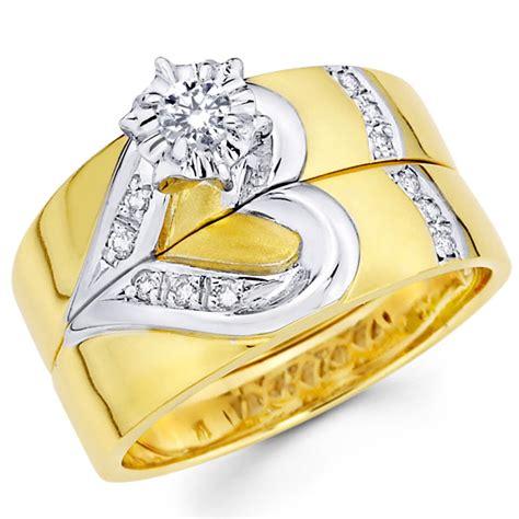 gold wedding ring sets engagement ring sets wedding plan ideas
