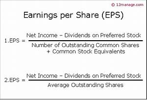 Earnings per Share EPS - Knowledge Center
