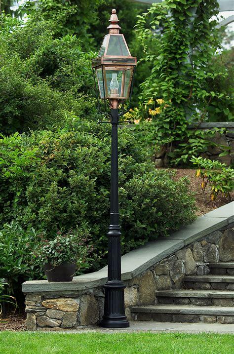 Aluminum Light Post | Black Aluminum Lantern Post ...