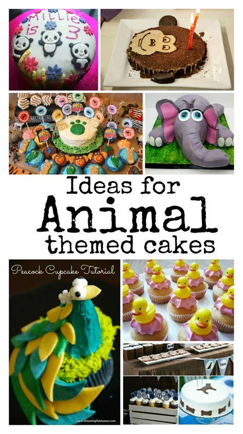 kids cake decorating ideas animal cakes   playroom