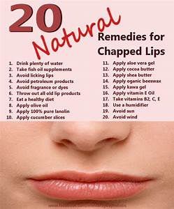20 Natural Remedies For Chapped Lips Monterey Bay