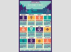 50 Absolutely Beautiful 2016 Calendar Designs Hongkiat