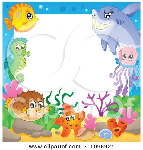 clipart happy cute puffer fish royalty  vector