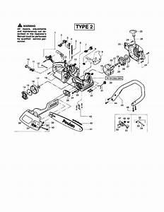 Poulan 2150 Fuel Line Routing Diagram