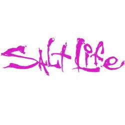 pink 12 quot salt signature decal