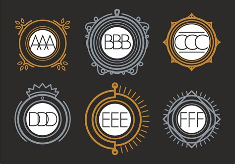 monogram vector   vectors clipart graphics vector art