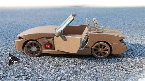 rc carbmw  amazing cardboard diy youtube