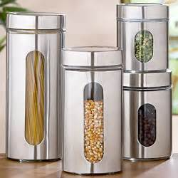 modern kitchen canisters glass storage jars sets of 2 storage containers modern kitchen canisters and jars