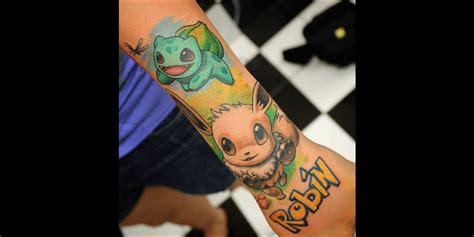 Tatouage Pokémon  Attrapezles Tous !  Tattoome Le