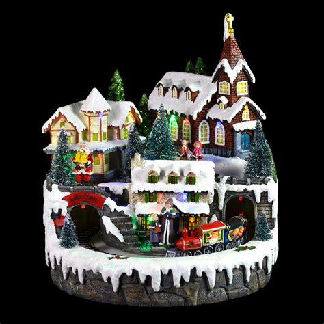 resin christmas light up room decoration festive