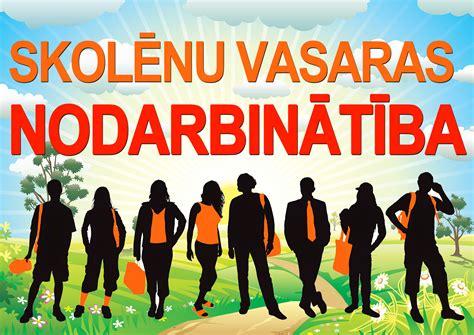 Skolēnu vasaras nodarbinātība - SALIENAS PAGASTA PĀRVALDE