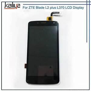 Lcd Display For Zte Blade L2 Plus L370 Touch Screen Digitizer Glass Sensor Panel Smartphone