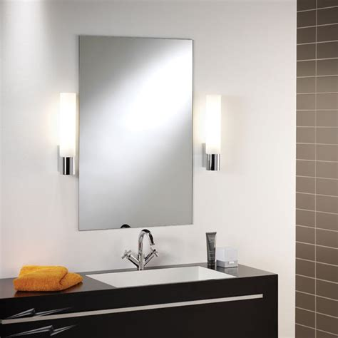 Contemporary Bathroom Lighting Images by Ax0386 Kyoto Bathroom Wall Light Modern Low Energy Wall