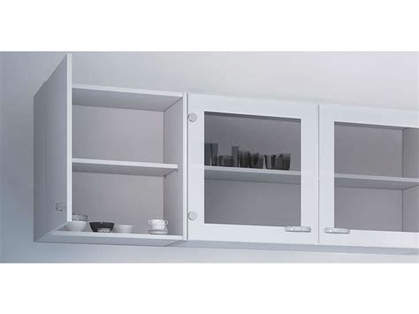 meuble haut cuisine 1 porte casa coloris blanc vente de