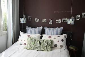 deco chambre romantique adulte gallery of chambre With incroyable papier peint couleur taupe 7 salle de bain bleu marine et orange