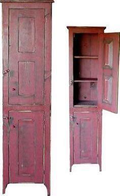 image detail  primitive chimney cupboard antiques