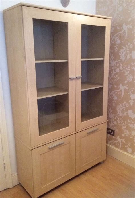 Cupboard Glass Doors by Display Cabinet With Top Glass Doors With Bottom