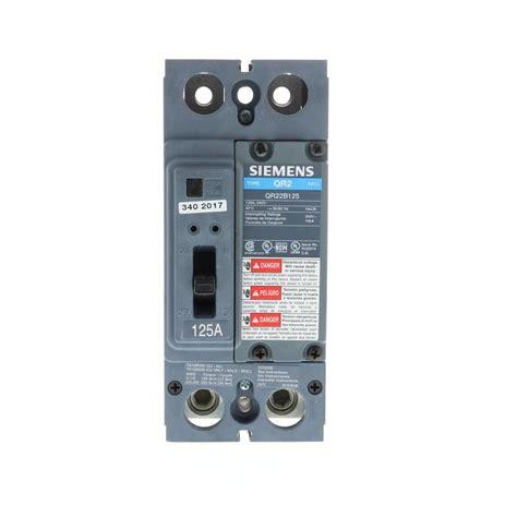 Siemens Amp Double Pole Type Circuit Breaker