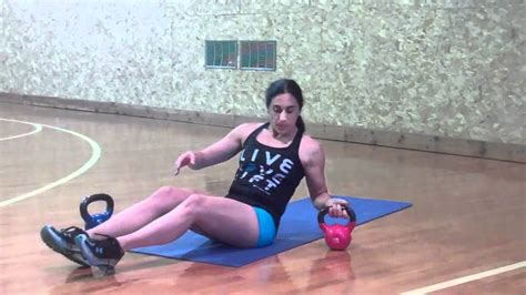 kettlebell exercises abs core