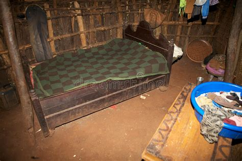 african interior house editorial photo image  poverty