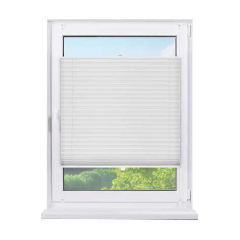 Fenster Sichtschutz Plissee by Fensterdecor Klemmfix Sichtschutz Plissee Rollo Mit