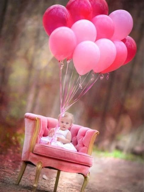 22 fun ideas for your baby girl 39 s first birthday photo shoot