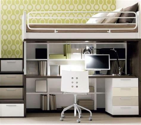 lit mezzanine 2 places avec bureau bureau idées de