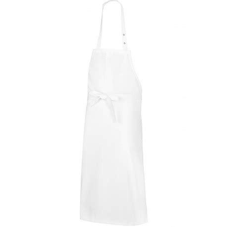 bp cuisine tablier de cuisine blanc bavette coton de chez bp
